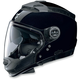 Metallic Black N44 Trilogy N-Com® Outlaw Helmet