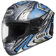 Silver/Blue X-Twelve Daijiro Memorial TC-6 Helmet
