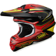 Black/Red/Yellow VFX-W Sear TC-1 Helmet