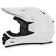 White FX-21 Helmet