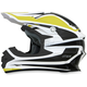 Yellow/White FX-21 Alpha Helmet