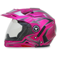 Fuchsia Multi FX-55 7-in-1 Helmet