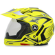 Hi-Vis Yellow Multi FX-55 7-in-1 Helmet
