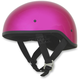 Fuchsia FX-200 Slick Beanie Style Half Helmet
