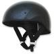 Black Metal Flake FX-200 Slick Beanie Style Half Helmet