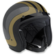 Gray/Metallic Gold Bonanza Fury Helmet