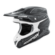 Black/Silver VX-R70 Blur Helmet