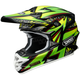 Green/Black/Yellow VFX-W Maelstrom TC-4 Helmet