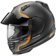 Matte Black/Silver/Orange Defiant Pro-Cruise Bold Helmet