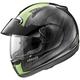 Black/Green Signet-Q Pro-Tour Scheme Helmet