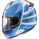 Blue/White/Black Vector-2 Hawk Helmet