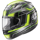 Black/Green RX-Q Electric Helmet
