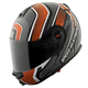 Orange/Black/Grey Lock & Load SS1700 Helmet