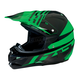 Black/Green Roost SE Helmet
