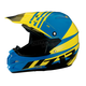 Black/Yellow/Blue Roost SE Helmet