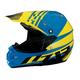 Black/Yellow/Blue Roost SE Helmet