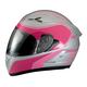 Silver/Pink Strike Ops Helmet