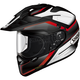 Black/White/Red Hornet X2 Seeker TC-1 Helmet