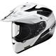 White/Black Hornet X2 Seeker TC-6 Helmet