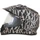 Frost Gray FX-39S Dazzle Helmet