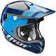 Blue/Silver Verge Scendit Helmet