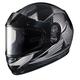 Youth Gray/Black CL-YSN MC-5 Striker Helmet with Framed Dual Lens Shield