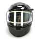 Youth Matte Black CL-YSN Helmet With Electric Shield