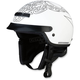 White/Black Nomad Tribal Helmet