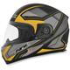 Matte Frost Gray/Hi-Vis Yellow FX-90 Extol Frost Helmet