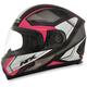 Black/Fuchsia FX-90 Extol Helmet