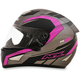 Frost Gray/Fuchsia FX-95 Airstrike Helmet