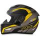 Frost Gray/Hi-Viz Yellow FX-95 Airstrike Helmet