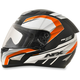 Black/Safety Orange FX-95 Airstrike 2 Helmet