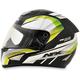 Black/Green FX-95 Airstrike 2 Helmet