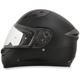 Flat Black FX-24 Helmet