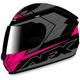 Black/Fuchsia FX-24 Talon Helmet