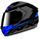 Black/Blue FX-24 Talon Helmet