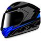 Black/Blue FX-24 Talon Helmet