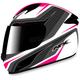 White/Fuchsia FX-24 Stinger Helmet