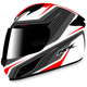 White/Red FX-24 Stinger Helmet
