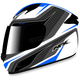 White/Blue FX-24 Stinger Helmet
