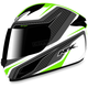 White/Green FX-24 Stinger Helmet