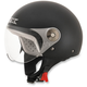 Youth Black FX-33 Scooter Helmet
