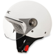 Youth Pearl White FX-33 Scooter Helmet