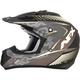 Frost Gray/White FX-17 Matte Factor Helmet