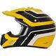 Yellow/Black FX-17 Vintage Yamaha Helmet
