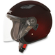 Wine Red FX-46 Helmet
