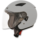 Silver FX-46 Helmet