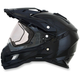 Black FX-41DS Dual Sport Helmet
