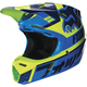Youth Blue/Green V3 Helmet